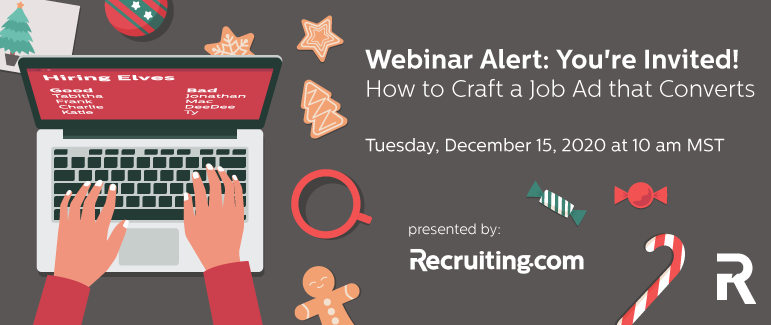 Webinar Alert: You're Invited! How to Craft a Job Ad that Converts